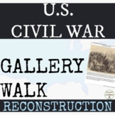 Civil War Reconstruction Activity Gallery Walk