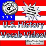 U History Academic and Subject Specific Vocabulary Video