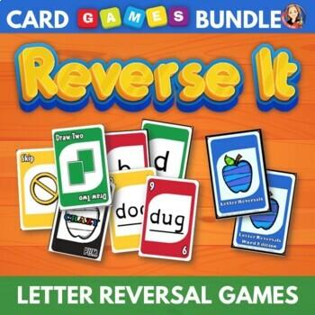 Letter Reversal Card Games
