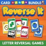 Letter Reversals Card Game Bundle