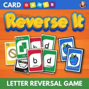 Reverse It - Letter Reversal Card Game