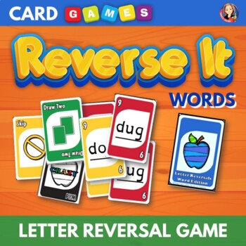 Letter Reversal Word Edition Card Game