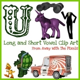 U - Long and Short Vowel Clip Art - Large High Quality Cli