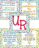 U R Bulletin Board - Color Me Bright - Self Esteem and Pos