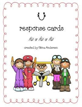 U Response Cards