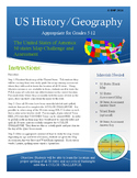 U.S. 50 States Map Challenge and Assessment