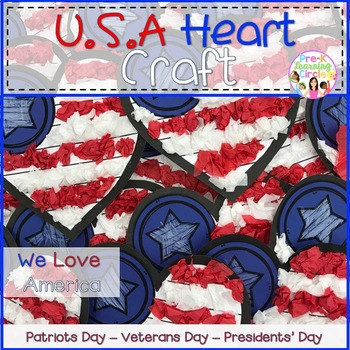 U.S.A. Heart Craft