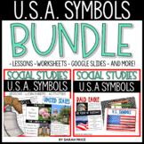 U.S.A Symbols Bundle Activities, Worksheets, and Bundles