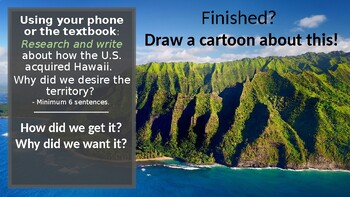 U.S. Acquisition of Hawaii Mini-lesson