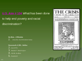 U.S. Aim # 104 What has been done to help end poverty and racial discrimination?