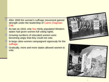 U.S. Aim # 105 What was the 19th Amendment?
