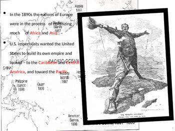 U.S. Aim # 112 Why did America want overseas colonies?