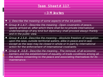 U.S. Aim # 117 How did the Treaty of Versailles change Europe?