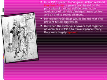 U.S. Aim # 117 How did the Treaty of Versailles change Europe?