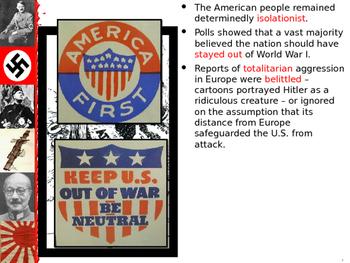 U.S. Aim # 136 Why did America enter WWII?