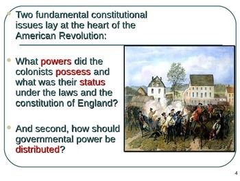 U.S. Aim # 14 What caused some of the revolutionary ideas of the day?