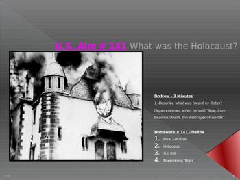 U.S. Aim # 141 What was the Holocaust?