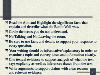 U.S. Aim # 144 What was the Berlin Wall?
