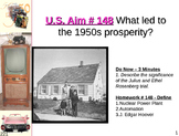 U.S. Aim # 148 What led to the 1950s prosperity?