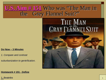 "U.S. Aim # 151 Who was ""The Man in the Grey Flannel Suit?"""