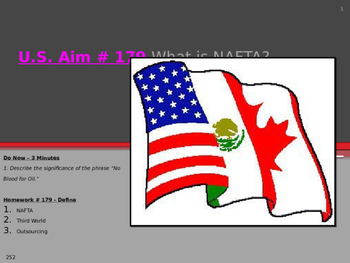 U.S. Aim # 179 What is NAFTA?