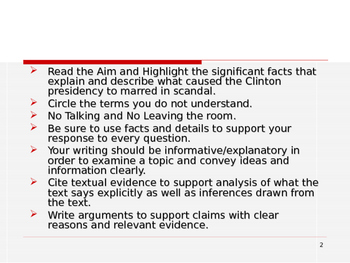 """U.S. Aim # 184 Why did Clinton say """"I did not have sexual relations"""