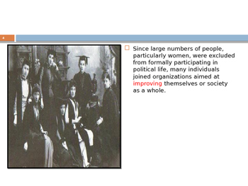 U.S. Aim # 54 What reform movements that took place in the 1800's?