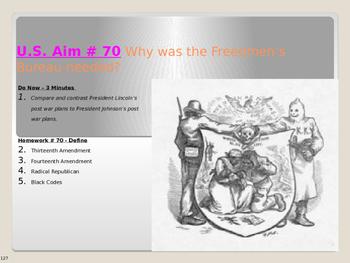 U.S. Aim # 70 Why was the Freedmen's Bureau needed?