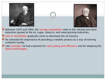 U.S. Aim # 81 How did the Robber Barons consolidate control?
