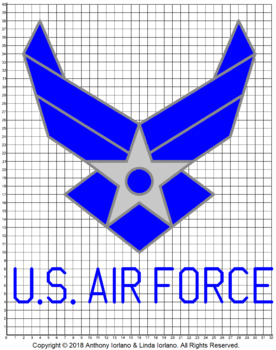 U.S. Air Force Logo Mystery Picture