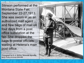 Early U.S. Airmail:  First Airmail Pilots, Early Flights Before Airlines