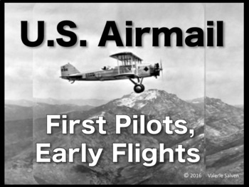 Early U.S. Airmail:  First Airmail Pilots, Early Flights B