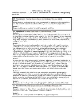 U.S Amendments Bell Ringer