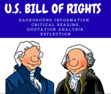 U.S. BILL OF RIGHTS - Critical Reading & Exercises
