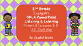 U.S. CIVIL WAR CKLA BUNDLE Domain 9 ALL LESSONS!!!