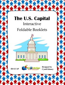 U.S. Capital Interactive Foldable Booklet