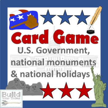 U.S. Card Game-United We Stand