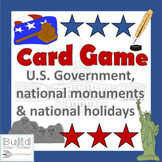 U.S. Card Game-United We Stand