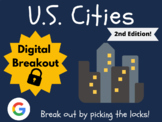 U.S. Cities (2nd Edition) Digital Breakout (Distance Learn