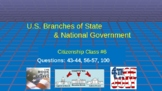 U.S. Citizenship Class SIX (of 6) Mini-Course