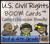 U.S. Civil Rights BOOM Cards™ Comprehension Activity Bundl