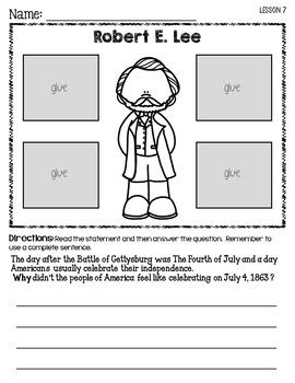 CKLA U.S. Civil War ~Second Grade (Engage NY/Core Knowledge companion Domain 9)