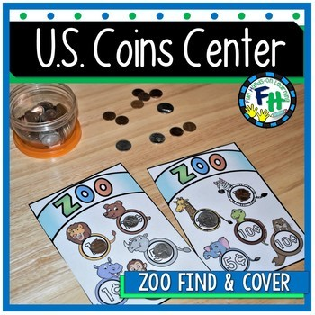 U.S. Coin Activity Center {Zoo Find & Cover)