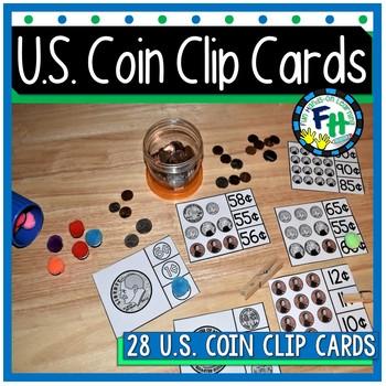 U.S. Coin Clip Cards