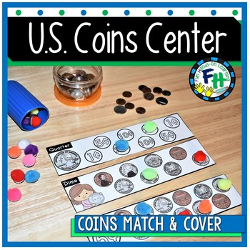 U.S. Coin Activity Center {Match & Cover}
