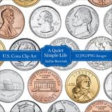 Money Clip Art - U.S. Coins Clip Art