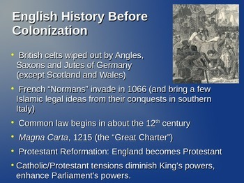 U.S. Colonial History (1588-1765)