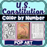 U.S. Constitution Color by Number : Articles and Amendments