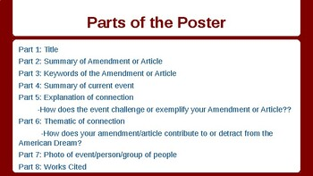 U.S. Constitution Group Poster Project