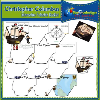 Christopher Columbus Interactive Foldable Booklet